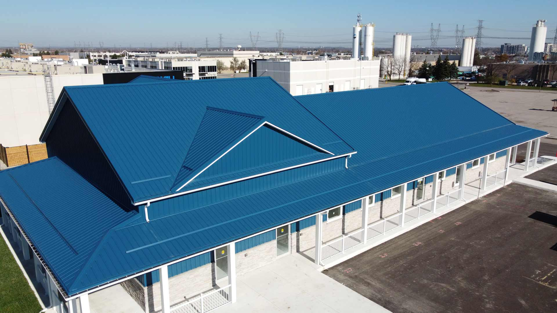 Commercial Metal Roofing Cambridge
