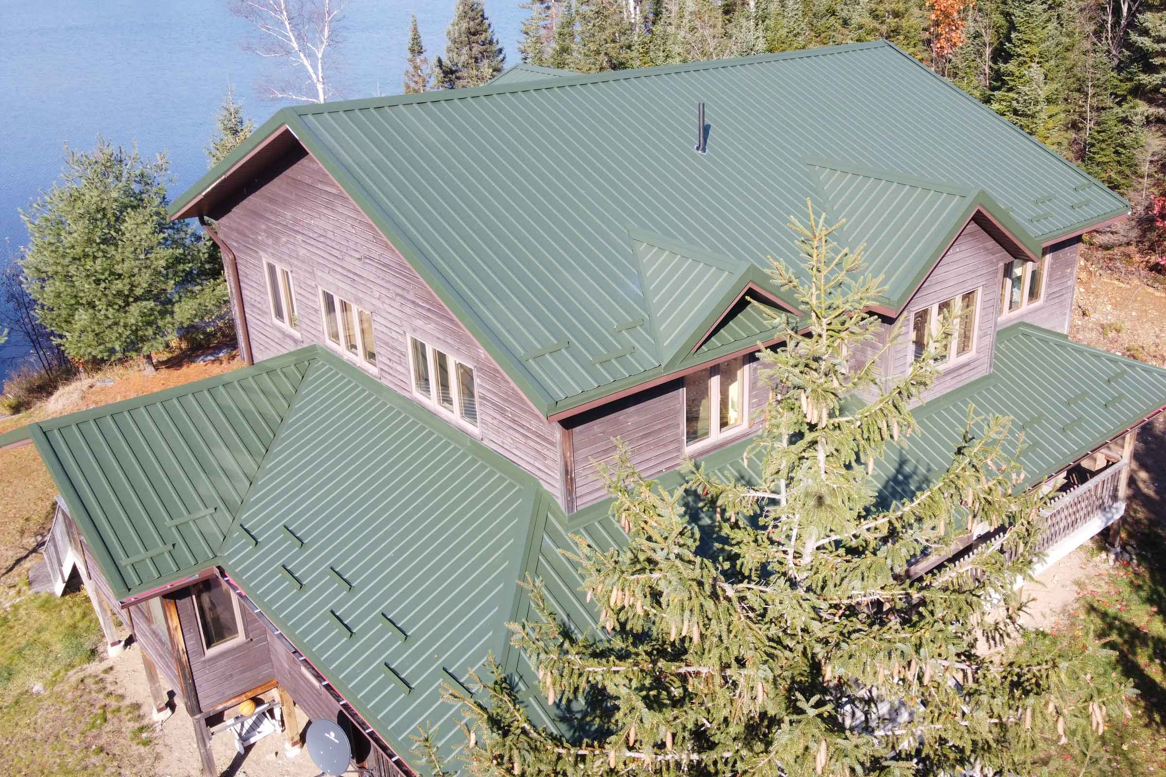 Cottage Metal Roofing St. Thomas