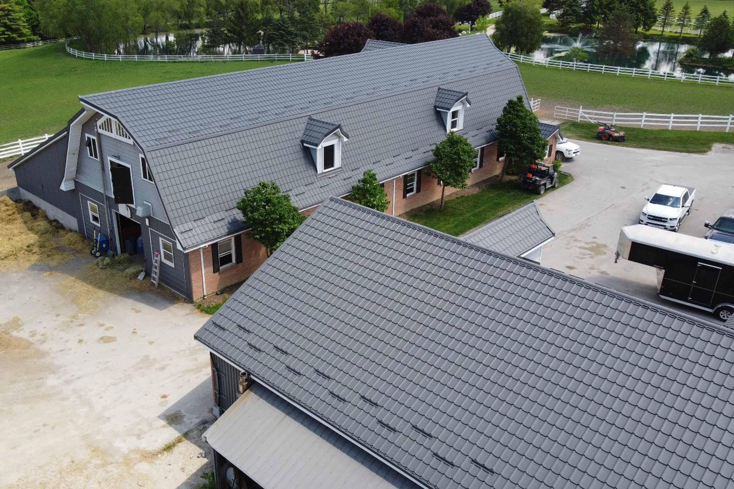 Agricultural Metal Roofing Woodbridge