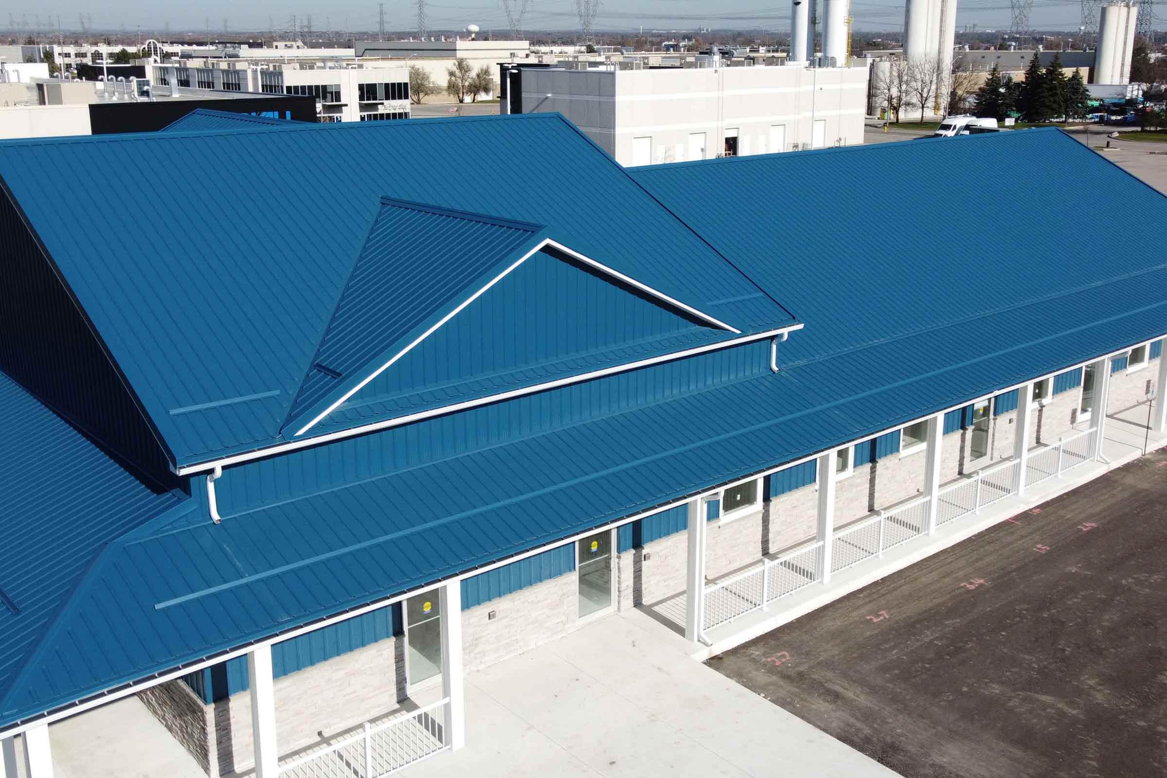 Commercial Metal Roofing Woodbridge